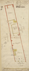 [Plan of property on Budge Row] 120B